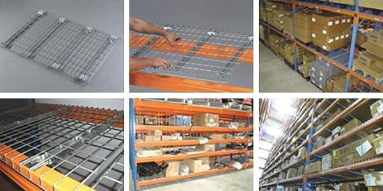 Picture of Heavy Duty Wire Mesh Decks for Pallet Racking 900 D x 900 W